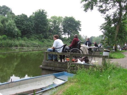 Vissers met een handicap zijn welkom bij